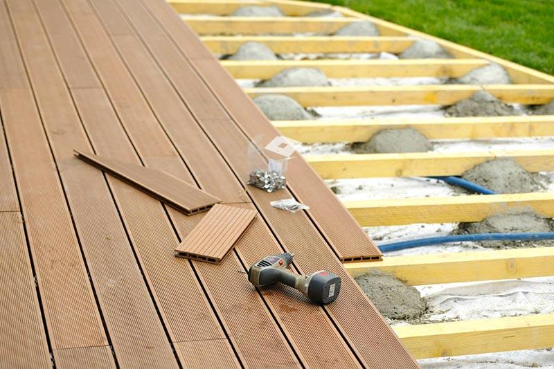 tarif de pose terrasse en bois