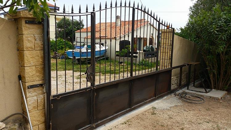 tarif pose portail