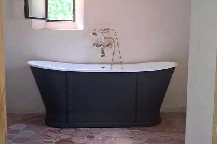 prix baignoire en fonte
