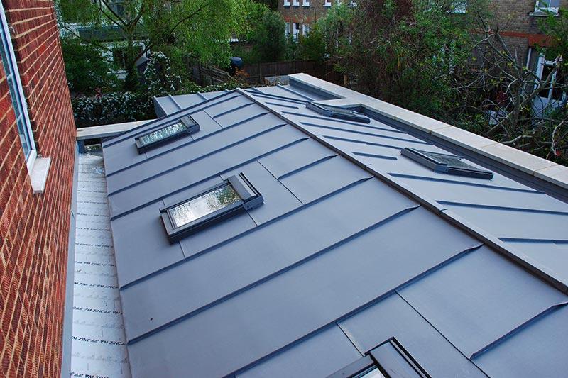 prix toiture zinc