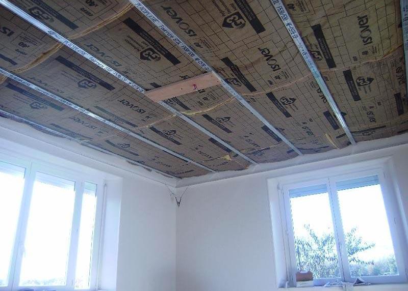 prix isolation interieur plafond