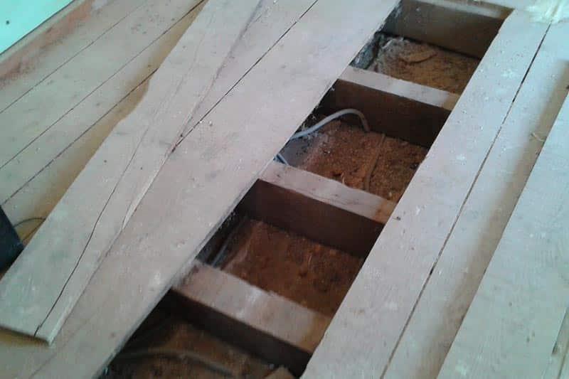 pose plancher bois