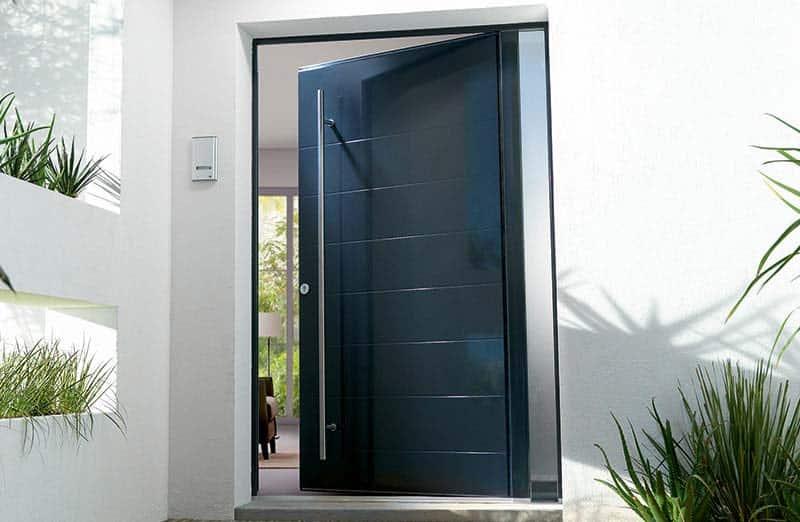 Prix d'une porte en aluminium pleine