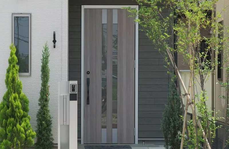 Prix d'une porte en aluminium semi vitrée