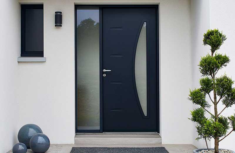 Prix porte d entr e acier co t moyen tarif pose Prix d une porte d entree en aluminium