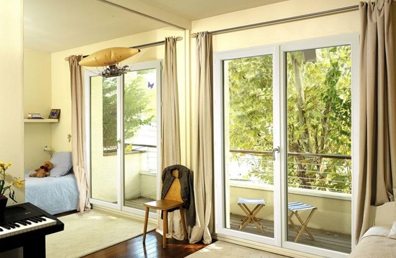 Prix d'une porte fenêtre en PVC