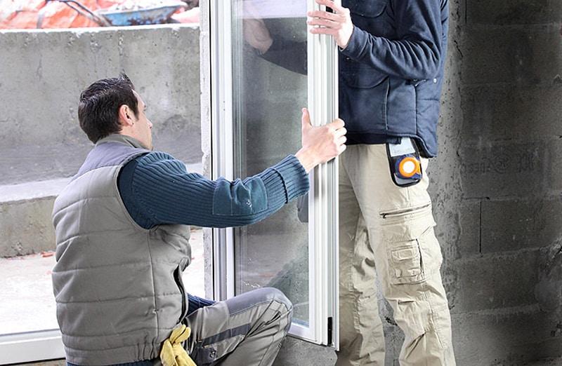 Prix de pose d'une porte-fenêtre en PVC
