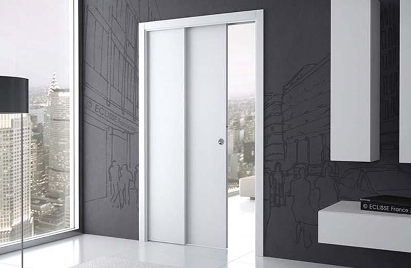 Prix d'une porte intérieure PVC à galandage