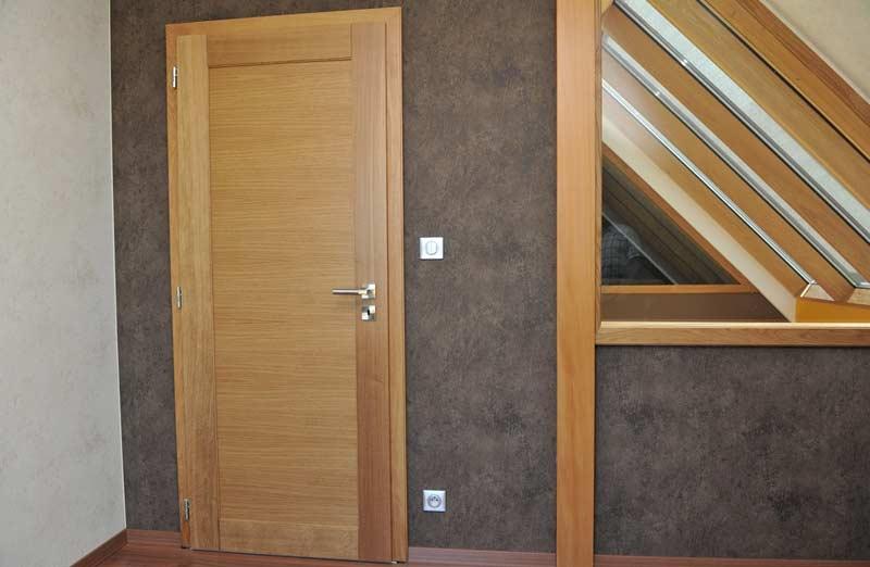 Prix d'une porte intérieure en bois