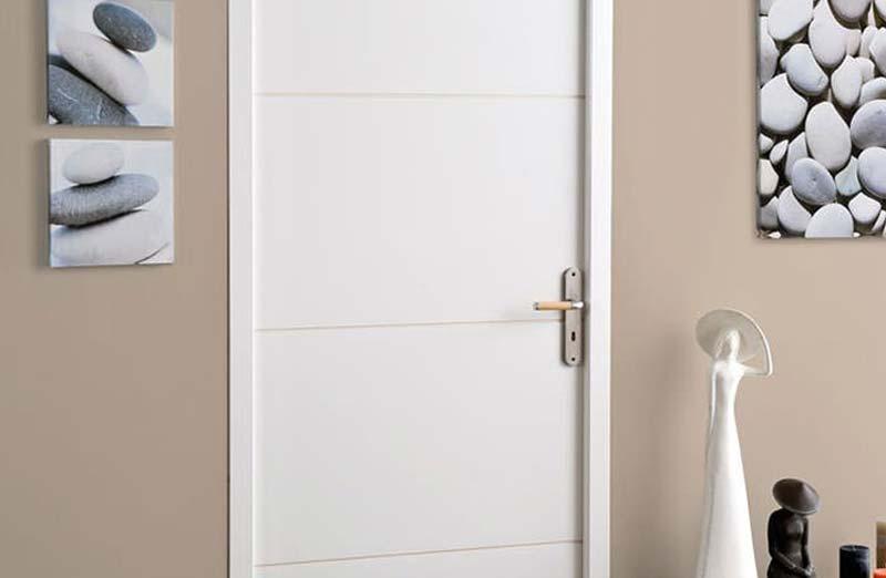 Prix d'une porte intérieure en PVC