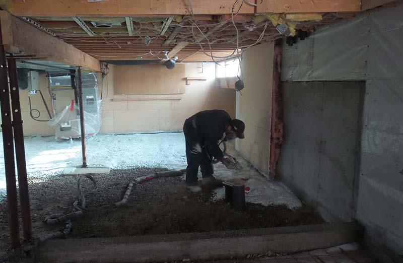 Prix de réalisation d'un aménagement de sous-sol