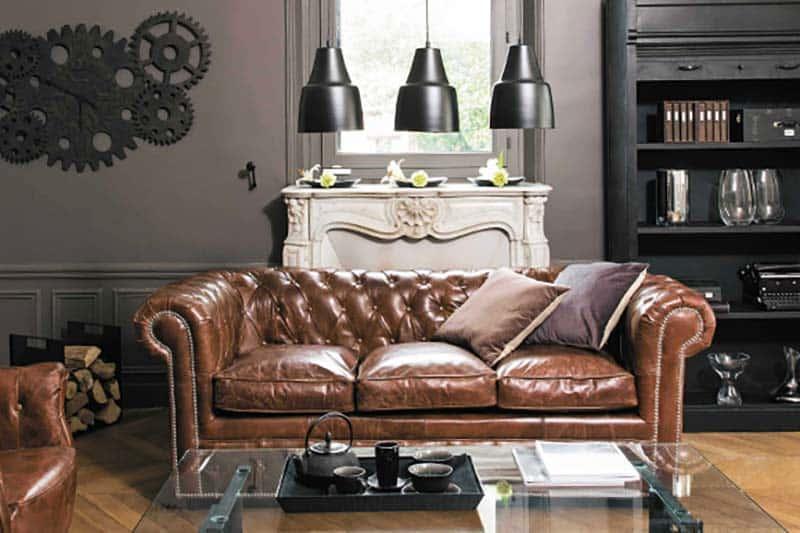 Quelle décoration avec un canapé Chesterfield ?