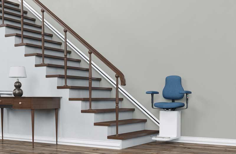 Prix d'un monte escalier droit