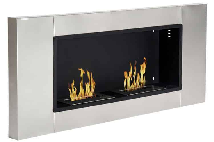 Homcom design Bauhaus cheminée éthanol