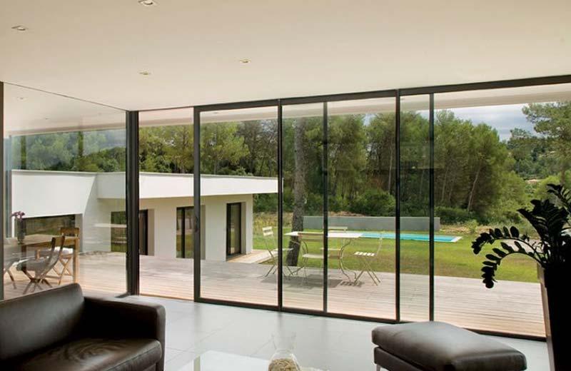 Prix d'une baie vitrée en aluminium