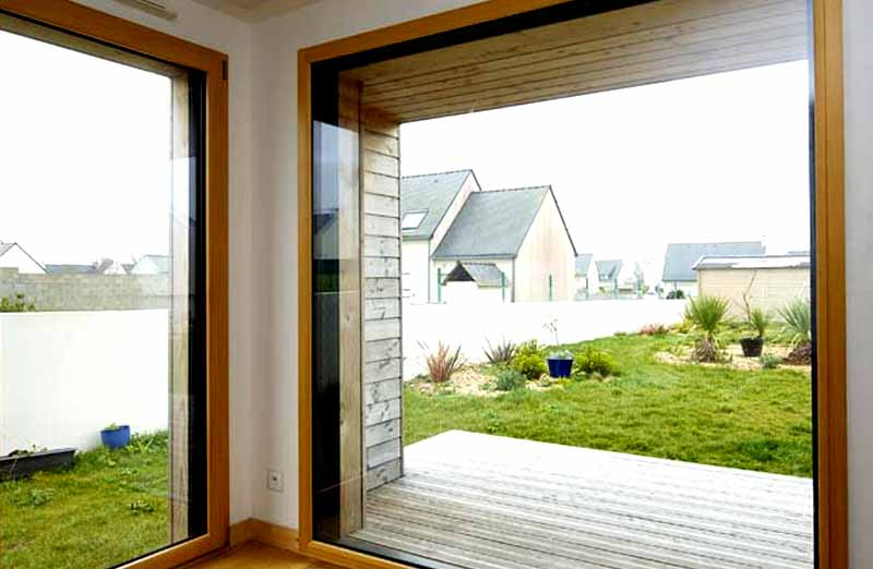 Prix d'une baie vitrée fixe en bois