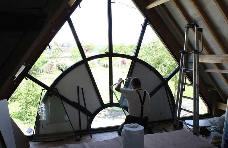 Prix d'installation d'une baie vitrée sur-mesure