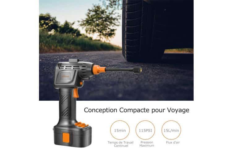 Autowit Compresseur d'Air Portable test