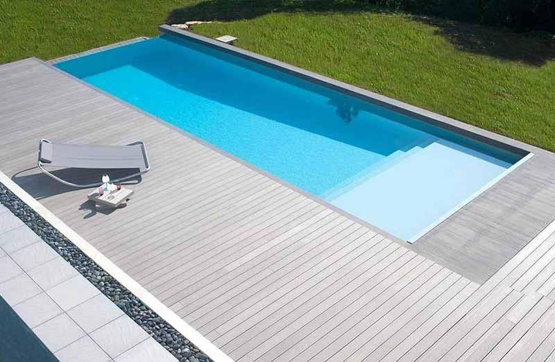 Prix d'une margelle de piscine en composite