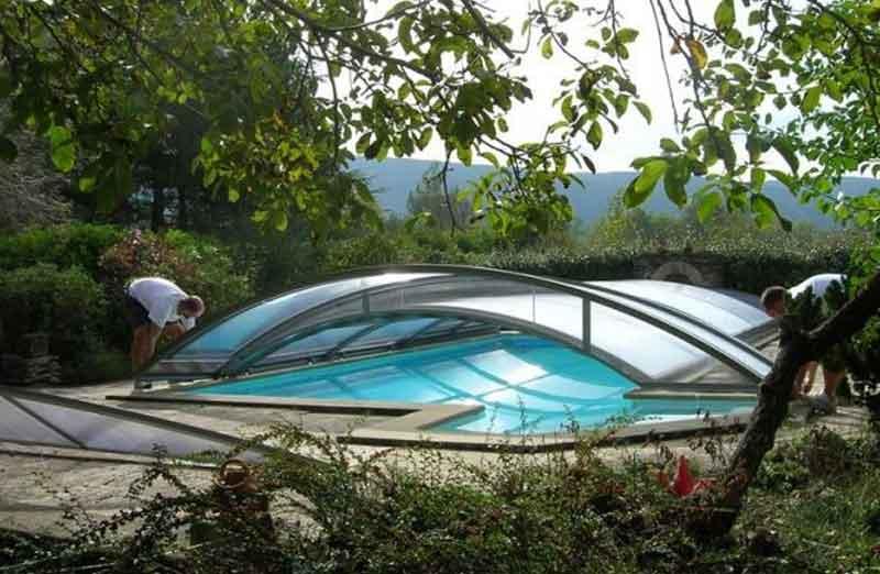 Prix de pose d'un abri de piscine