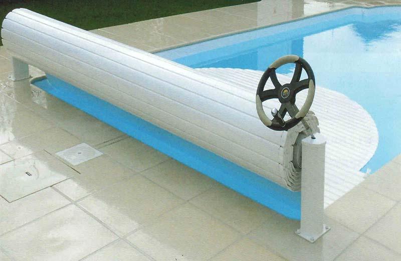 Prix d'un volet roulant manuel de piscine
