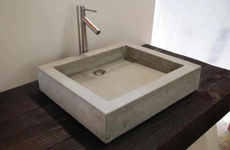 Prix d'un lavabo en béton