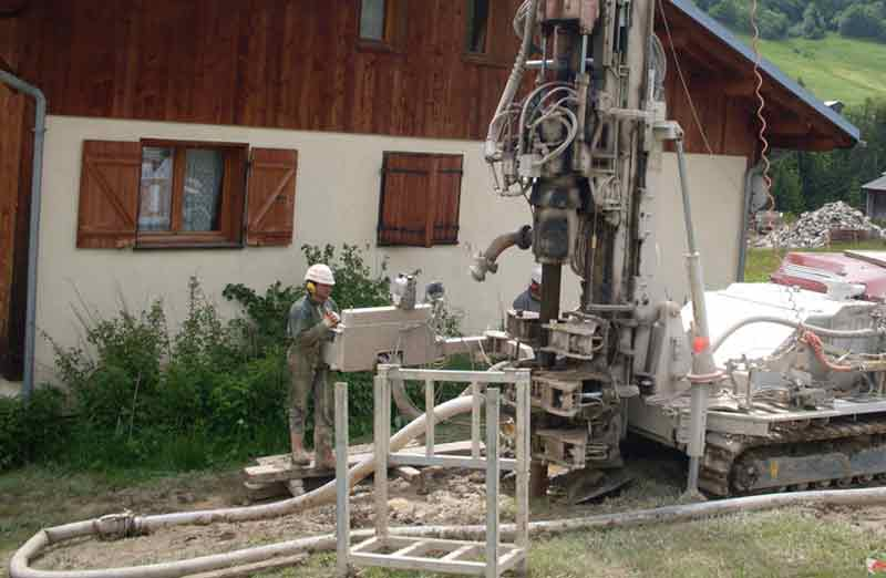 Prix d'installation d'une PAC géothermique par captage vertical