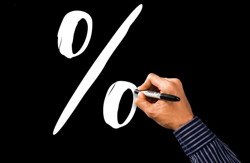 Le prix au pourcentage d'un architecte