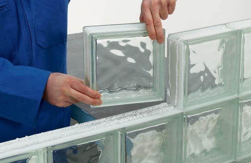 Prix d'une cloison en brique de verre
