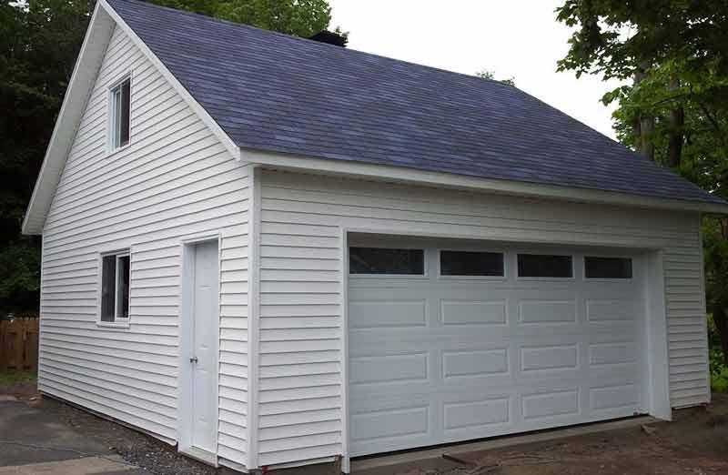 Prix d'une construction de garage