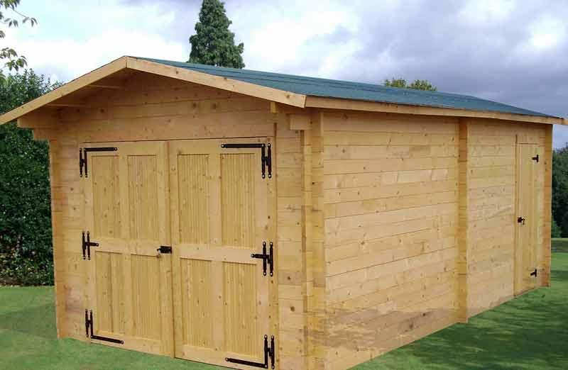 Prix d'un garage en bois