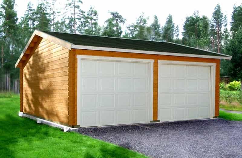 Prix d'un garage hors-sol