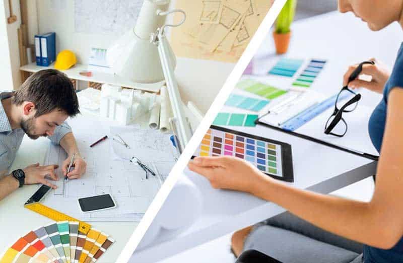 Les différences entre un designer et un décorateur d'intérieur