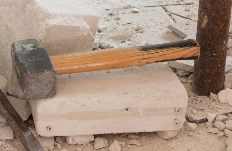 Prix d'une démolition selon les matériaux