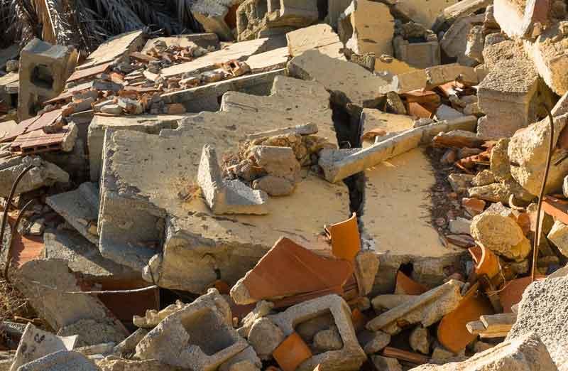 Prix d'enlèvement des gravats de démolition
