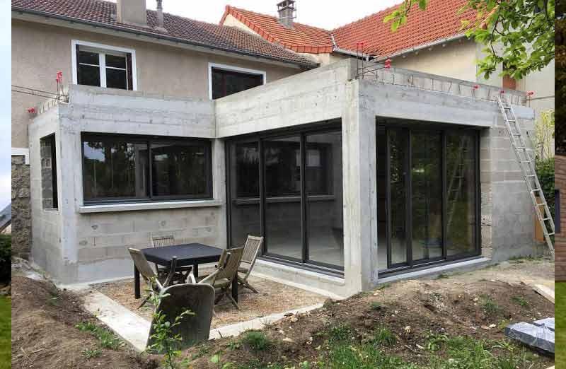 Prix de réalisation d'une extension de maison
