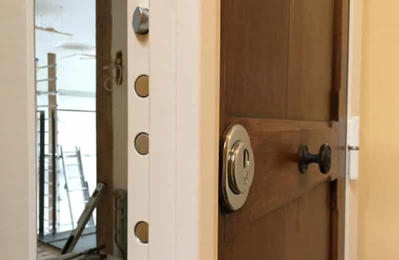 Prix d'un blindage ajouté à une porte