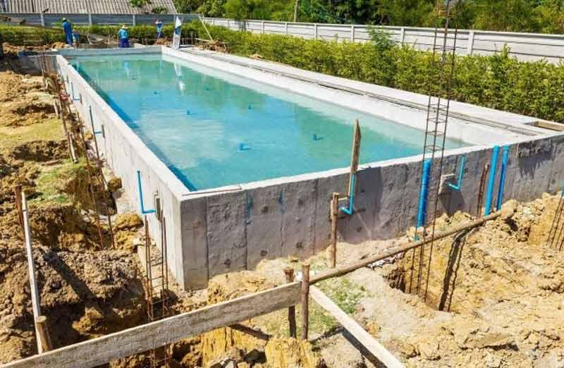 Prix d'une piscine en kit enterrée en béton