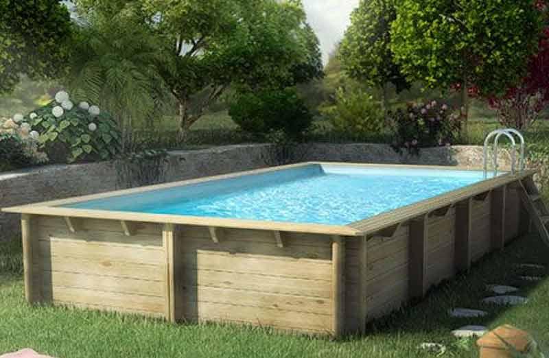 Prix d'une piscine en kit hors-sol en bois