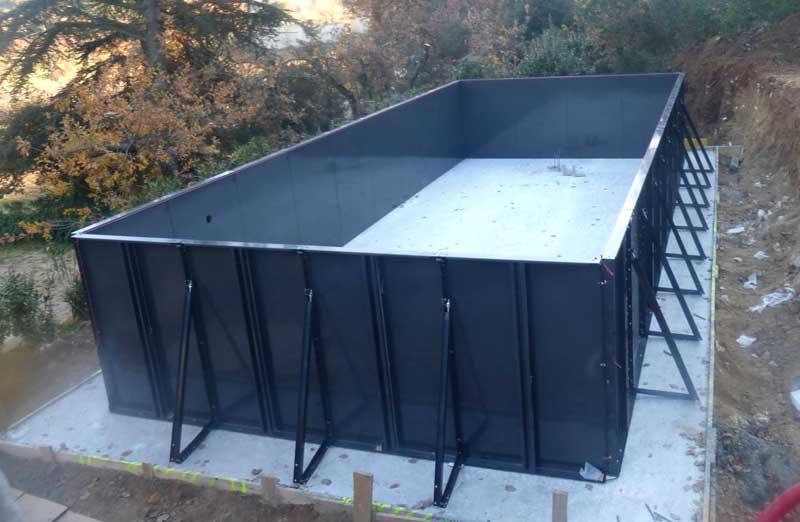 Prix d'une piscine en kit hors-sol en métal