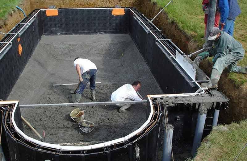 Prix d'une piscine en kit enterrée en panneaux modulaires
