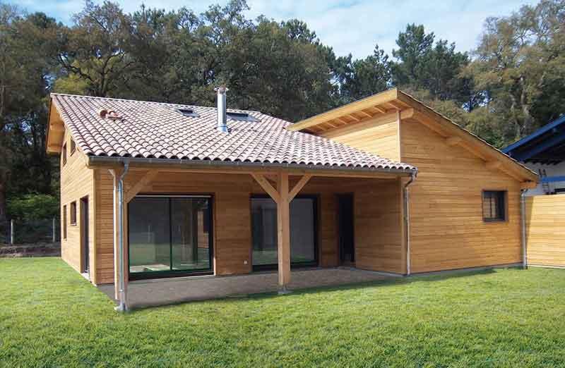 Prix de pose d'une maison en bois clé en main