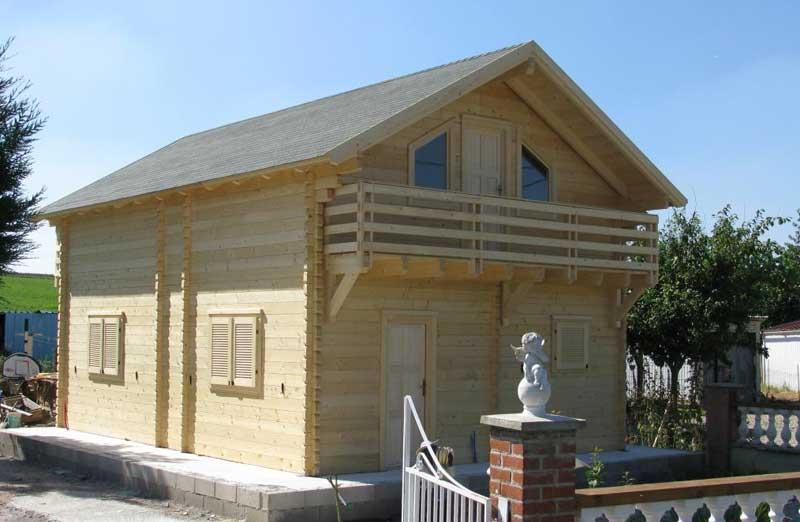 Prix de pose d'une maison bois en kit