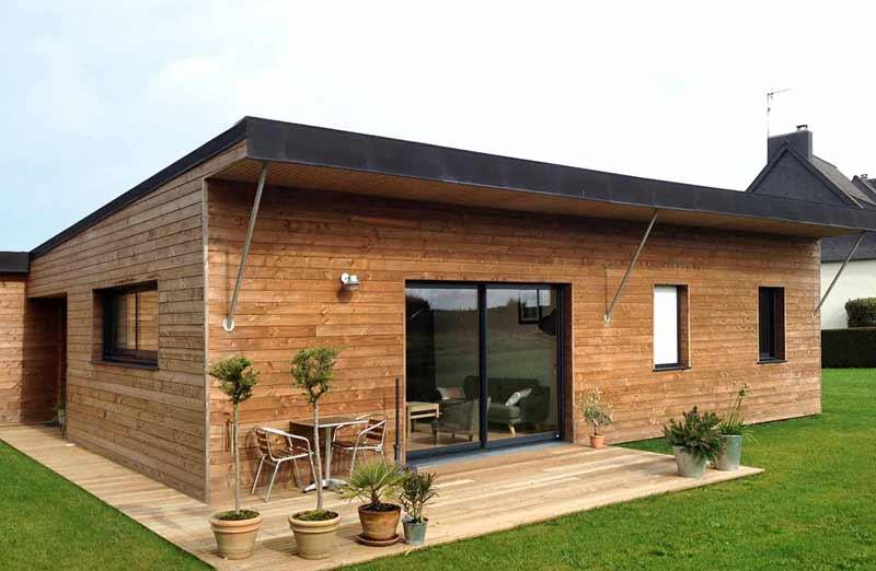 Prix de pose d'une maison en bois