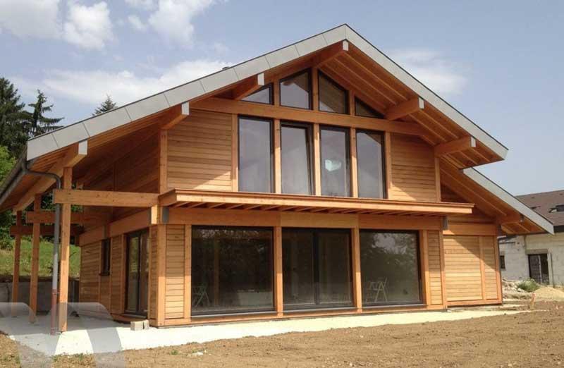 Prix de pose d'une maison à ossature bois BBC