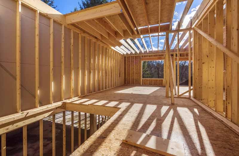Prix de pose d'une maison à ossature bois