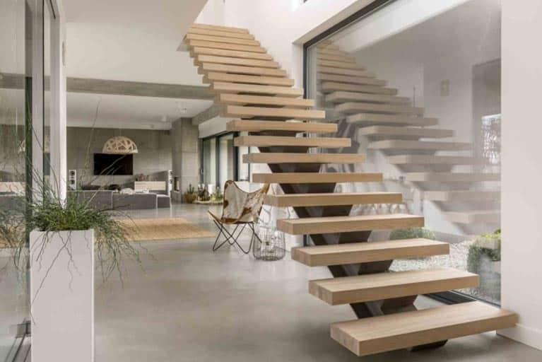 Prix de la menuiserie - Prix d'un escalier d'intérieur