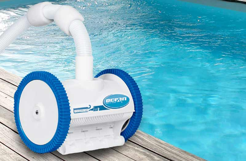 Choisir un robot hydraulique de piscine
