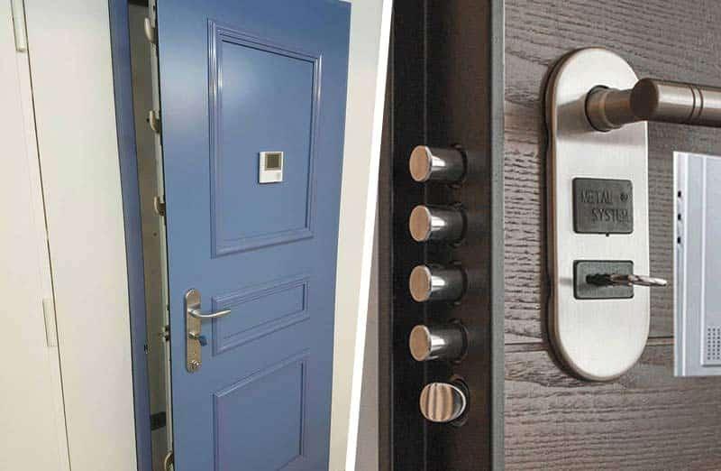 Choisir entre un bloc porte blindée et un blindage de porte d'entrée