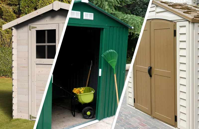 Choisir le matériaux de construction de son abri de jardin